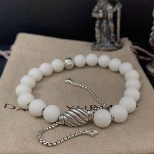David Yurman Spiritual Bead White Coral
